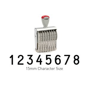 Trodat 15158 Classic Stamps 15mm Character Size 8 Bands